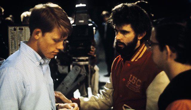 Ron Howard e George Lucas