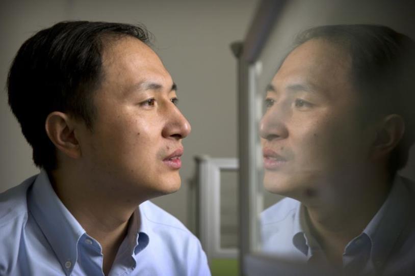 Il genetista cinese He Jiankui