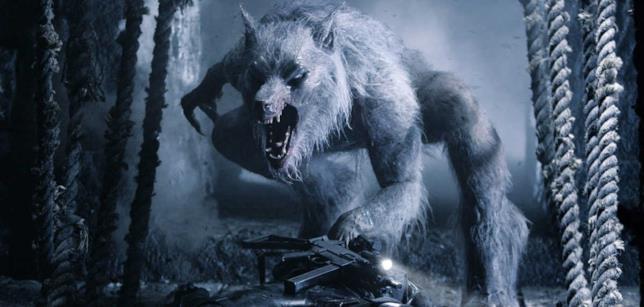 Uno dei lupi mannari della saga di Underworld