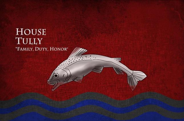 Il motto e lo stemma di Casa Tully
