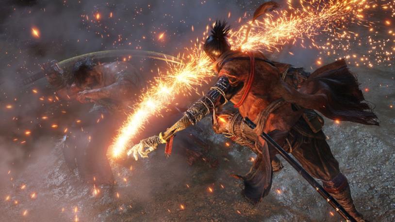 Sekiro combattimento ninja