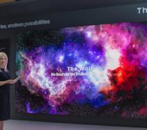 Il The Wall di Samsung immortalato al CES 2019