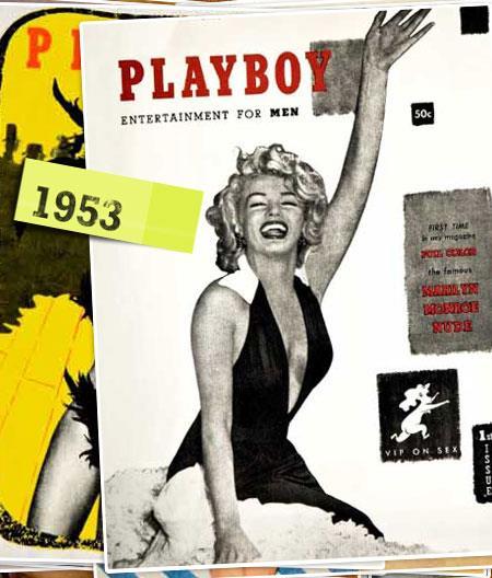 Marilyn Monroe nella storica prima cover di Playboy