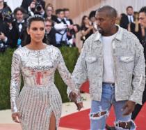 Kim Kardashian e Kanye West al Met Gala 2016