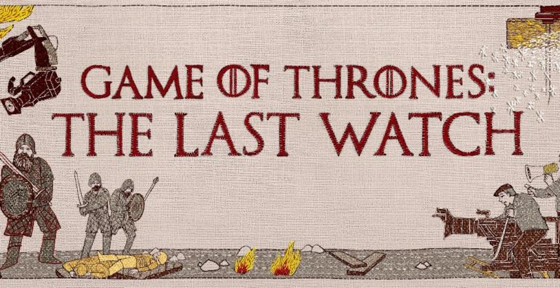 Il logo di Game of Thrones: The Last Watch