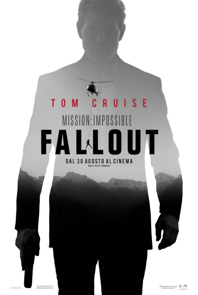 Il poster ufficiale di Mission: Impossible - Fallout