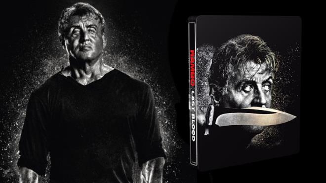 La versione Blu-ray 4K di Rambo: Last Blood