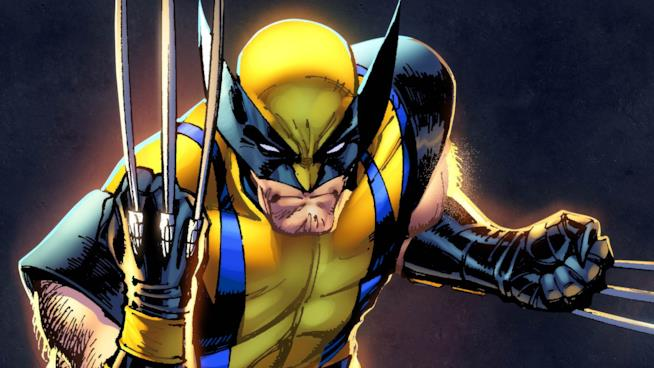 Un'immagine dai fumetti di Wolverine