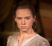 Daisy Ridley sul set di Star Wars VII