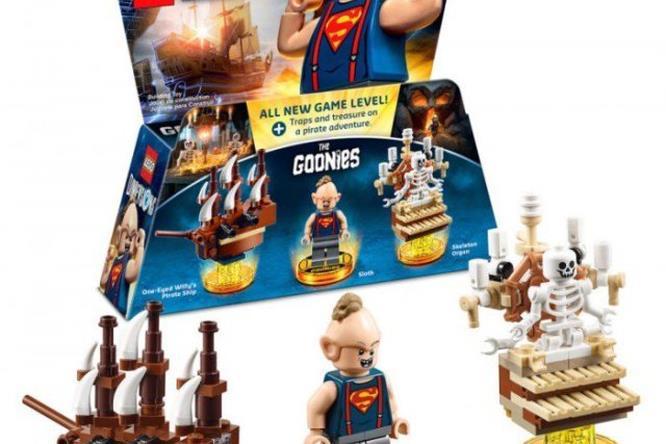 Sloth dei Goonies in Lego Dimensions