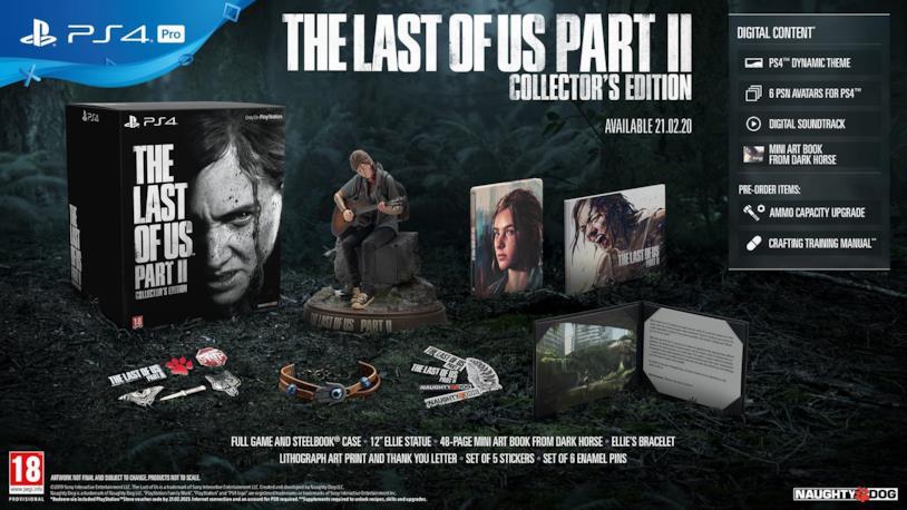 La Collctor's Edition di The Last of Us Part II
