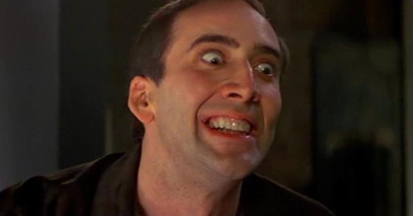 Nicolas Cage è Castor Troy in Face/Off