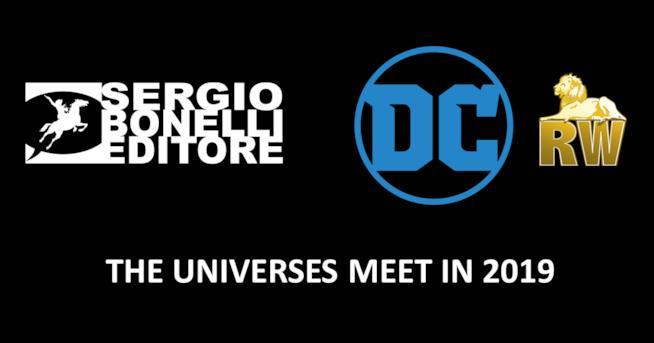 In arrivo il crossover tra eroi DC Comics e personaggi Sergio Bonelli Editore