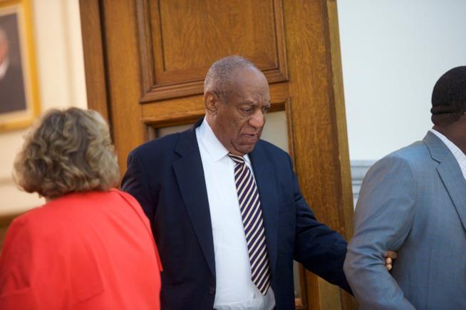 Bill Cosby durante il processo penale