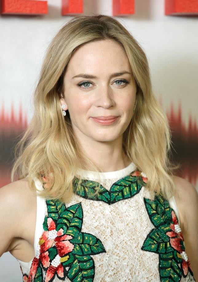Emily Blunt in primo piano