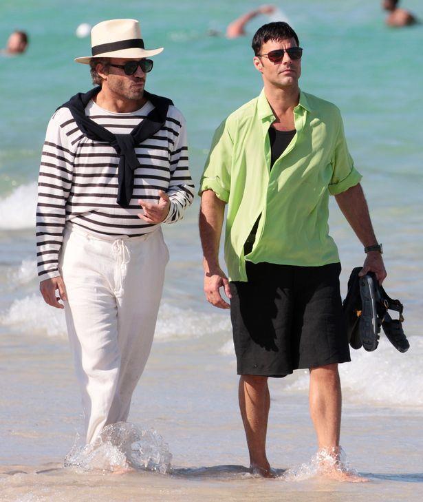 American Crime Story: Edgar Ramirez e Ricky Martin, rispettivamente Gianni Versace e Antonio D'Amico