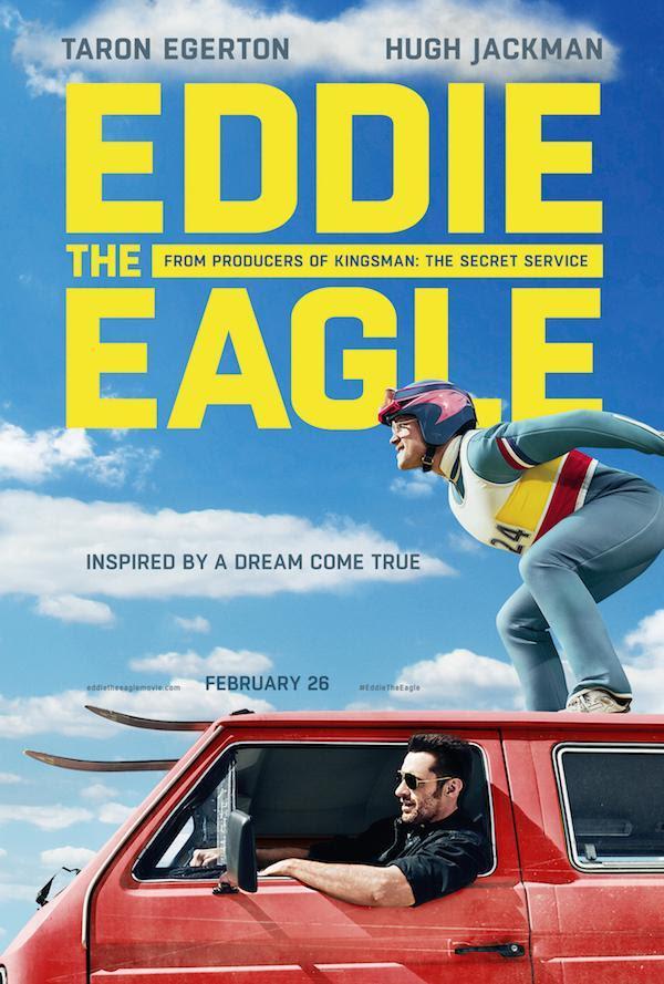 Taron Egerton e Hugh Jackman portano al cinema la storia di Eddie the Eagle