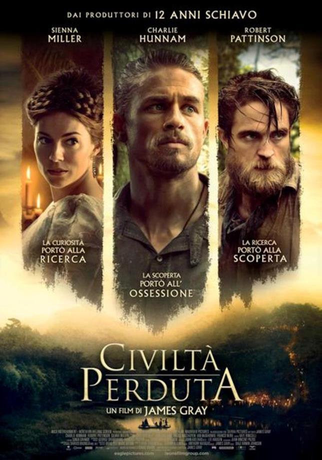 Civiltà perduta, il poster italiano del nuovo film di James Gray