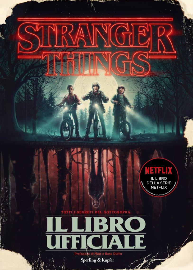 La copertina di Stranger Things il libro ufficiale