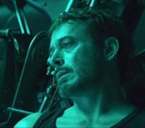 Un primo piano di Robert Downey Jr. nel primo trailer di Avengers: Endgame
