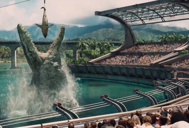 Jurassic World: il Mosasaurus