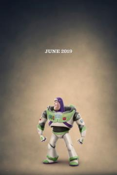 Buzz Lightyear nel character poster di Toy Story 4