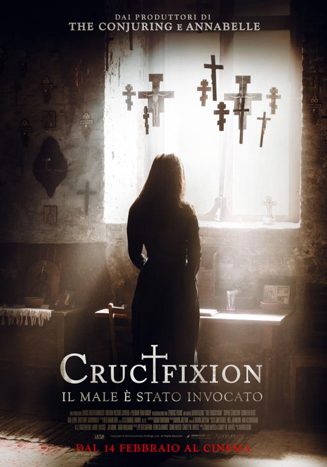 Crucifixion, poster ufficiale