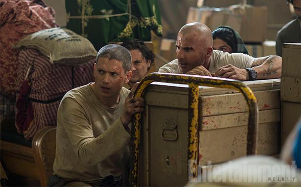 Michael Scofield e Lincoln Burrows