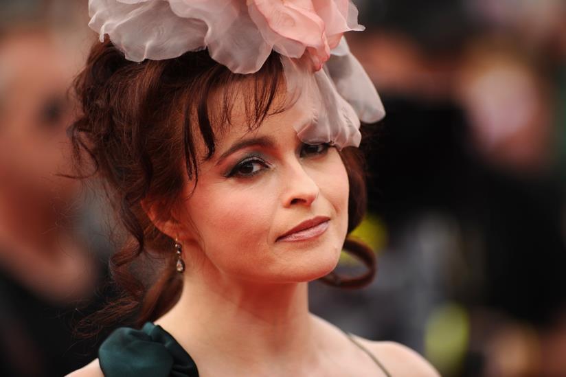 Primo piano di Helena Bonham Carter