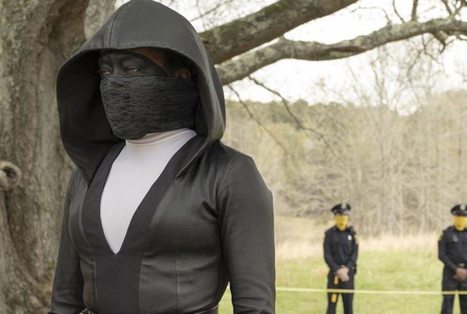 Una scena dal pilot di Watchmen