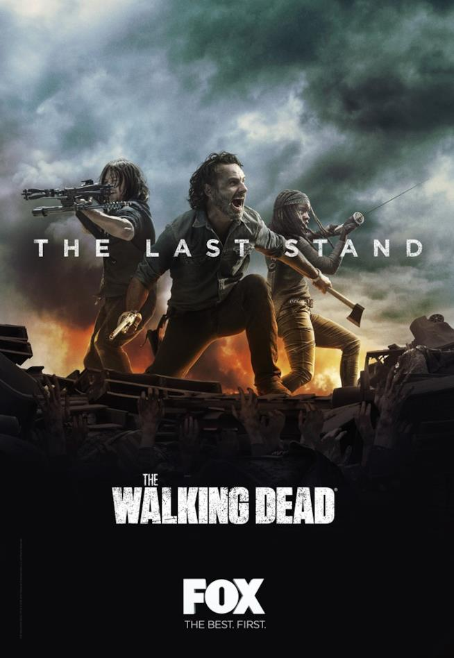 The Walking Dead, la locandina della seconda parte della stagione 8