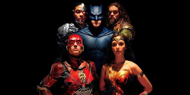 I 5 supereroi della Justice League