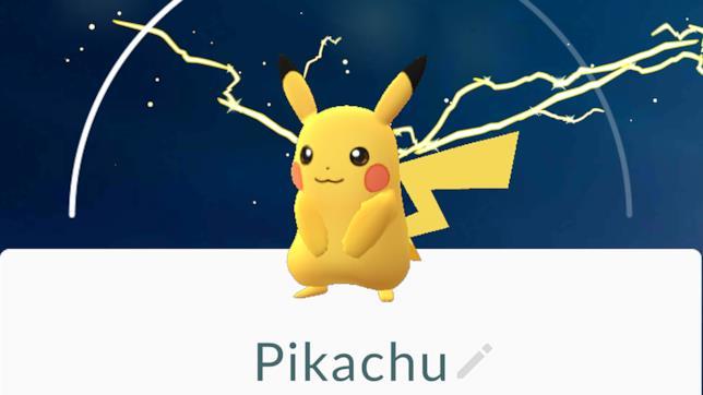 Anche Pikachu tra gli starter di Pokémon GO