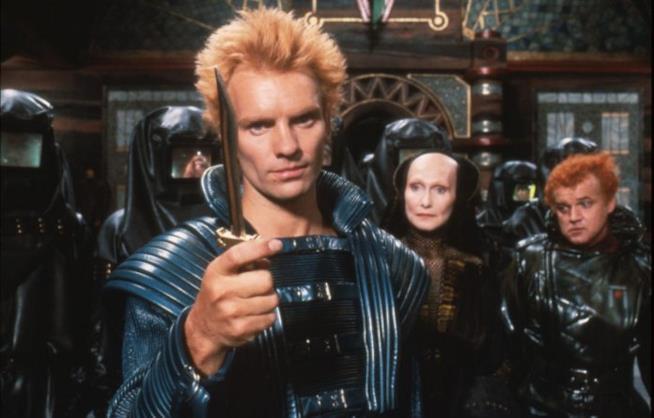 Scena del film Dune tratto dal romanzo