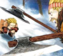 Vinland Saga vichinghi in anime