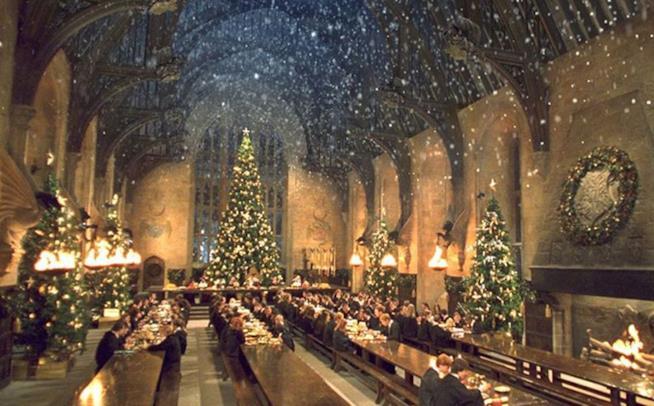 La Sala Grande a Natale
