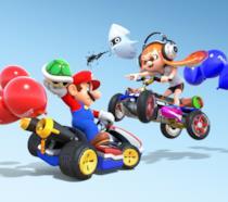 Mario e Inkgirl si sfidano in Mario Kart 8 Deluxe