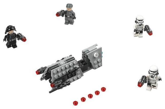 Dettagli del set di LEGO Battle Pack Pattuglia imperiale