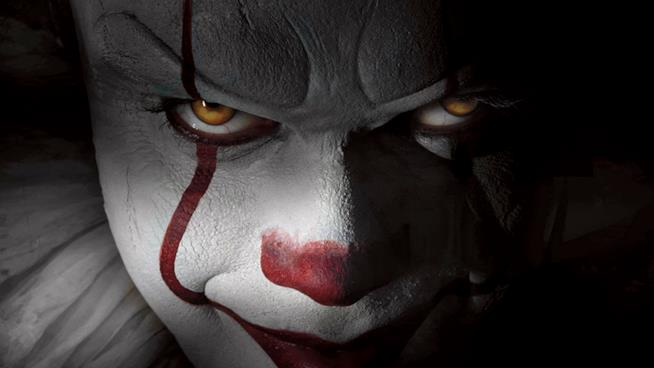 Pennywise nel remake di IT