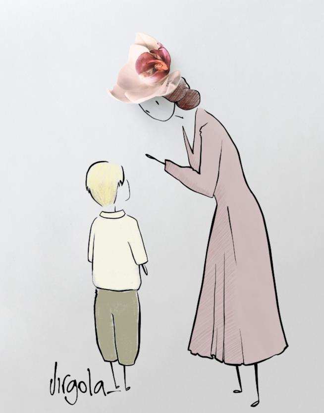 La creazione di Virgola per Quattro mamme