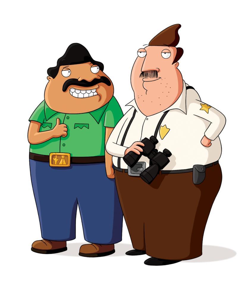 Bud ed Ernesto, protagonista di Bordertown