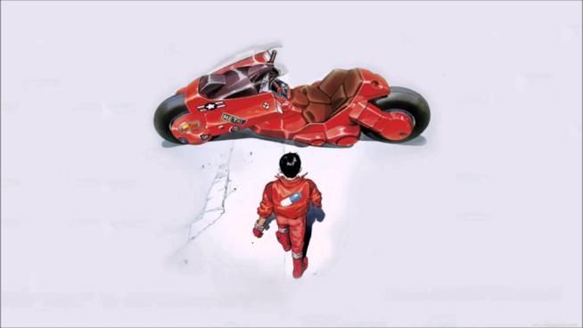 Il poster di Akira di Katsuhiro Otomo