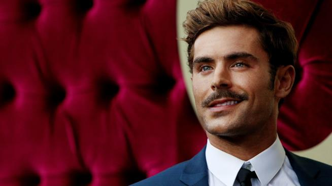 Zac Efron alla prima di The Greatest Showman