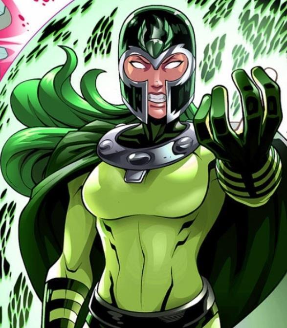Polaris nel costume di Magneto