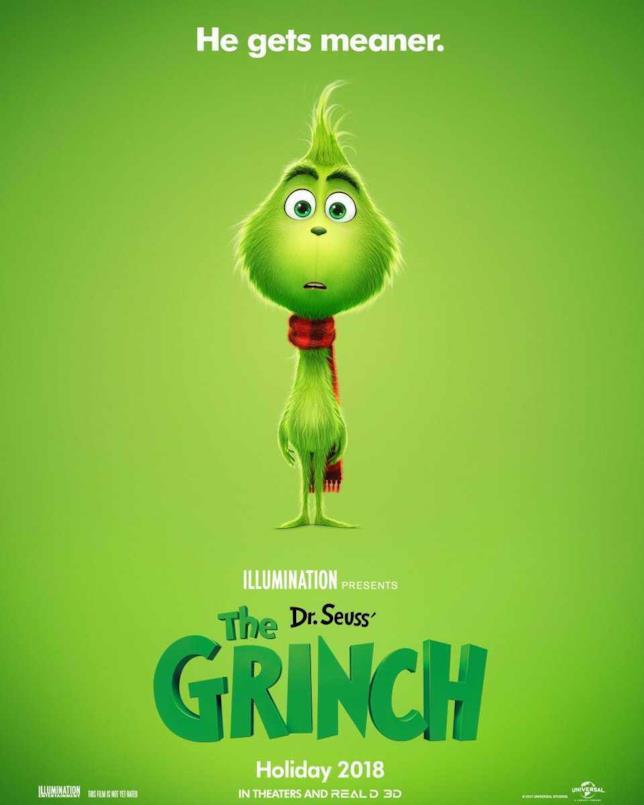 Un baby Grinch per il poster del nuovo film d'animazione