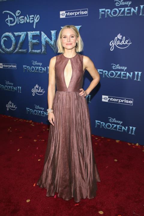 Kristen Bell sul red carpet di Frozen 2