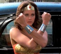 Lynda Carter nella serie TV di Wonder Woman