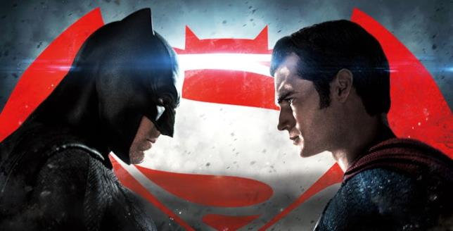 Profili di Ben Affleck e Henry Cavill rispettivamente nei panni di Batman e Superman