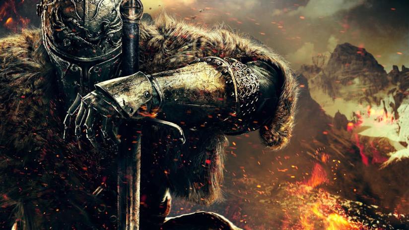 Un artwork ufficiale di Dark Souls 2
