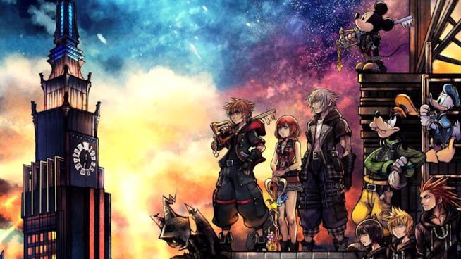 Kingdom Hearts 3 cover